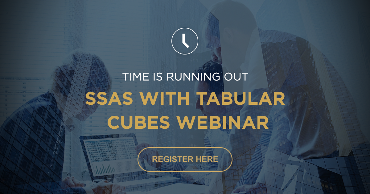SSAS with Tabular Cubes